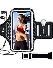 Autkors Sportarmband voor iPhone 12 Pro Max/11/11 Pro Max/XR, Galaxy S10, met sleuf voor hoofdtelefoon, reflecterend, tot 6,7 inch