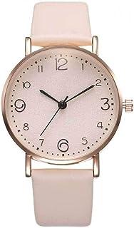 Xieifuxixxxnnssb women's watches Women's Watches Rose Gold Luxury Fashion Simple All-match Women Clock Quartz Wristwatch (...