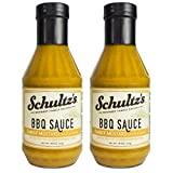 Schultz's Gourmet BBQ Sauce, 18 oz (Pack of 2) (Tangy Mustard)