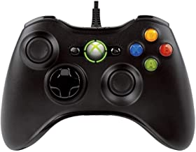 Xbox 360 Wired Black Controller for PC and Microsoft Xbox 360 Console ( Compatible for PC and Xbox 360 Console)
