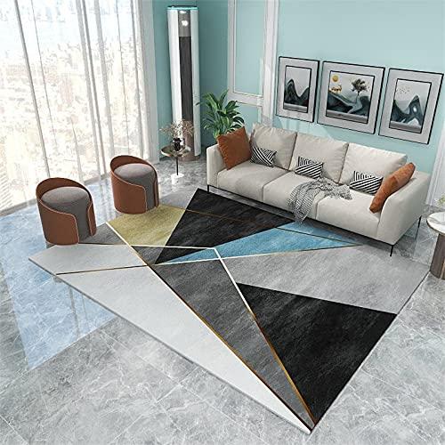 MEIDEL Calidad Alfombra Lana 170x240cm poliéster Supersuave Alfombra Salón Moderna Estilo Vintage decoración del hogar, SU-K13