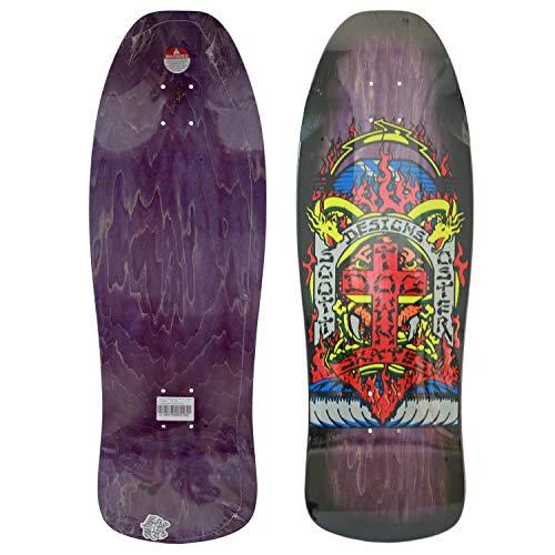 Dogtown Scott Oster Reissue Old Skool Cruiser Skateboard Purple 10.375 Inch