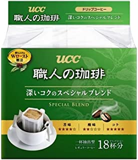 UCC craftsman of coffee drip coffee deep richness of the special blend 18P