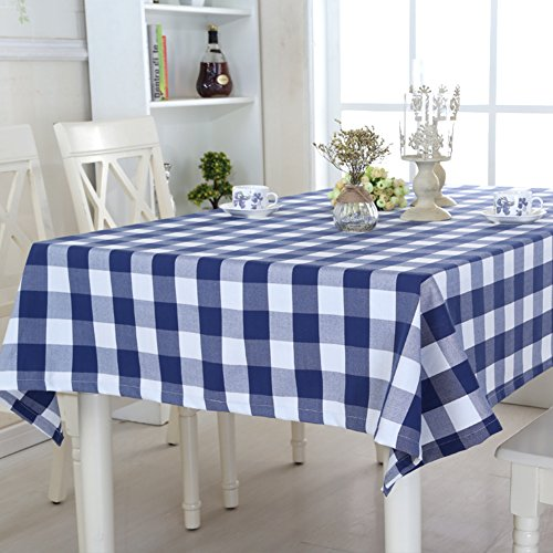 landelijke Plaid tafelkleed/stoffen/tafelkleding/tafel tafel ronde tafeldoek/langwerpig doek/tafelkleed
