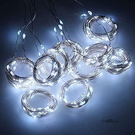 LED Fairy Lamp Remote USB Garland Curtain String Lights Home Party Xmas Decor