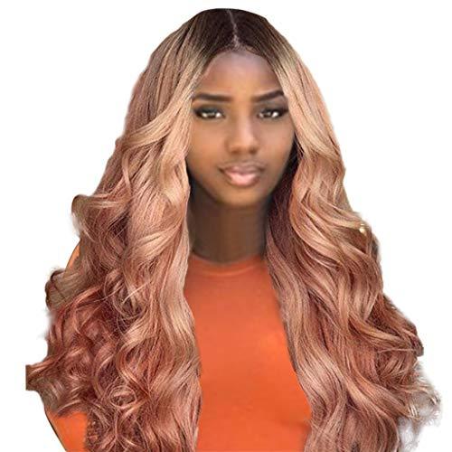 Perruques Cheveux Humains Brésiliens Remy Body Wave Lace Front Femmes Madame Vente Chaude Filet à Cheveux Rose Pas cher