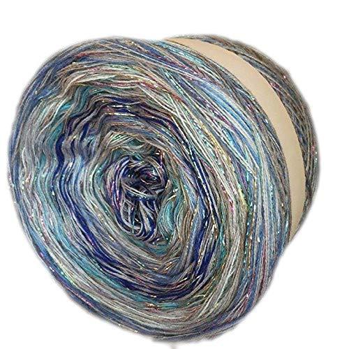 Farbverlaufsgarn Bobbel Häkeln 200 Gramm LL ca. 1000 Meter Farbe 480