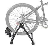lahomie - Ejercicio de Bicicleta magnético, Soporte de Acero para Bicicleta Interior de 7 velocidades, para tamaño de neumático de 24 a 28 Pulgadas
