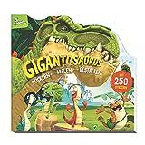 Gigantosaurus Stickern - Malen - Gestalten: Mit 250 Stickern. Ein Dinosaurier-Buch für Kinder ab 4 Jahren
