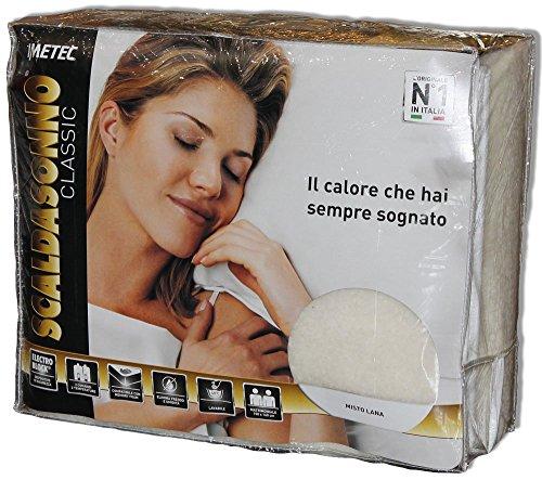 Imetec 16278 Scaldasonno Classic Letto Singolo O Matrimoniale Due Piazze