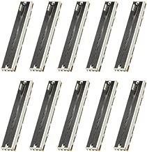 WMYCONGCONG 10 PCS 10K Ohm Slide Potentiometer Single Linear 10K Electronic Potentiometer, 88mm