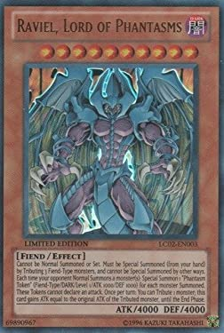 YU-GI-OH! - Raviel, Lord of Phantasms (LC02-EN003) - Legendary Collection 2 - Limited Edition - Ultra Rare