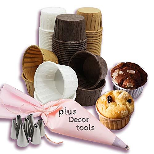 pirottini cupcake,pirottini di carta per cupcake,pirottini muffin, Pirottini Colorati,pirottini di carta per muffin,pirottini per muffin(100 pcs )