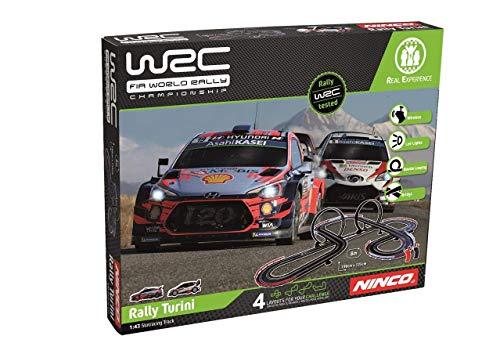 Ninco wrc rally turini Circuito Slot, color variado, única (Fábrica De Juguetes 91011) , color/modelo surtido