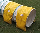 Doble ración sacos para túnel agility de Callieway – 2 alforjas para tunéles agility
