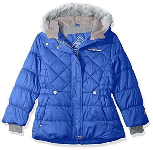 ZeroXposur Lexy Big Girls Puffer Jacket, Larkspur, Small