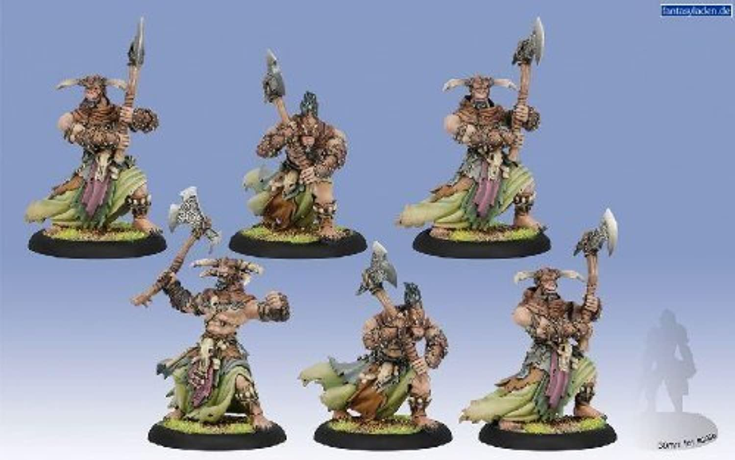 alta calidad Hordes Circle Orboros Tharn Ravagers Unit (Plastic, 6 Figuras, PIP72066) PIP72066) PIP72066) by Privateer Press