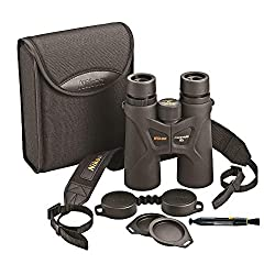 top rated Nikon 10 × 42 ProStaff 3S binoculars (black) with Nikon lens cleaning system 2021
