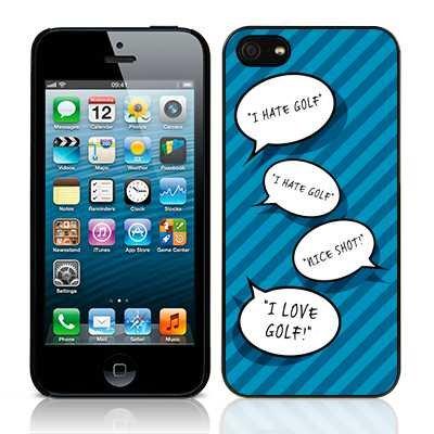 Call Collezione Candy Golf I Hate Golf Golf I Love-Cover per Apple iPhone 5s/5 SE
