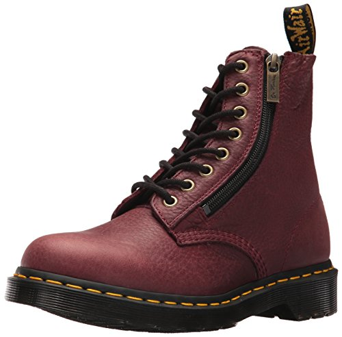 Dr Martens Pascal W/Zip - Cherry Red Grizzly