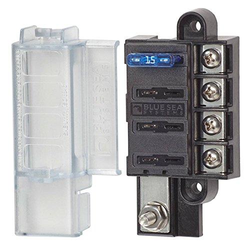 Attention brand AMRB-5045 Blue Sea Compact Block Circuit Bargain sale 4 Fuse