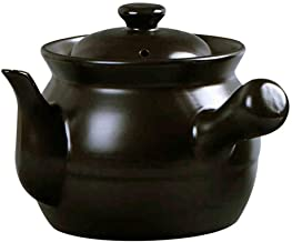 Pot with Lid and Dual Loop Handle, Cast Iron Oven Pot with Lid and Dual Handles (Size : 16cm*14.5cm (6.3 * 5.7 inches)) De...