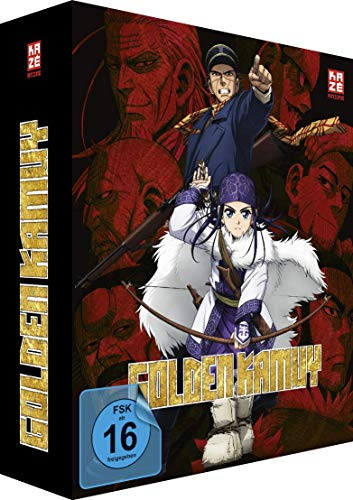 Golden Kamuy - Vol. 1 - [DVD] - Limited Edition + Sammelschuber
