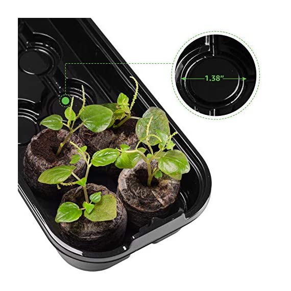 3-pack seed starting kit window garden greenhouse, adjustable humidity dome seed starter tray, mini propagator kit… 3 : reusable seed starter kit, creates growth environment needed for reliable seed germination. The holes designed make plant absorb water quickly and evenly : the transparent greenhouse cover can provide warmth and humidity. When the growth height of seedling exceeds 0. 39 inches, airflow is needed to accelerate the growth rate, so the cover provides a better growth environment and space : insert seed or cuttings and keep them moist in warm greenhouse. After the seeds grow up, you can even move the entire seed drive to an outdoor patio, deck planter or backyard garden. It is very suitable for people of any skill level, including children