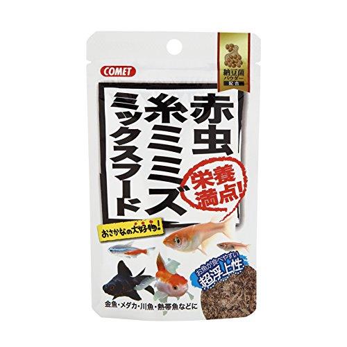 イトスイ コメット『赤虫・糸ミミズ ミックスフード(7g)』