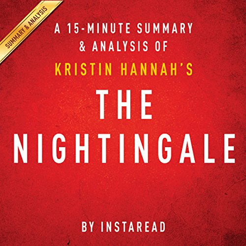 The Nightingale: by Kristin Hannah | A 15-minute Summary & Analysis audiobook cover art