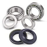 XiKe 2 Set Axle Bearing & Seal Kit, Include SET10 and 43252-7S200 Compatible Dana 44 Rear, Non-Rubicon JK, AMC 20 and M226 Rear '04-'07 and More.
