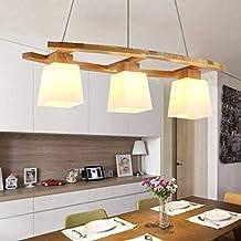 Amazon.es: lámparas rusticas de techo - Madera / Iluminación ...