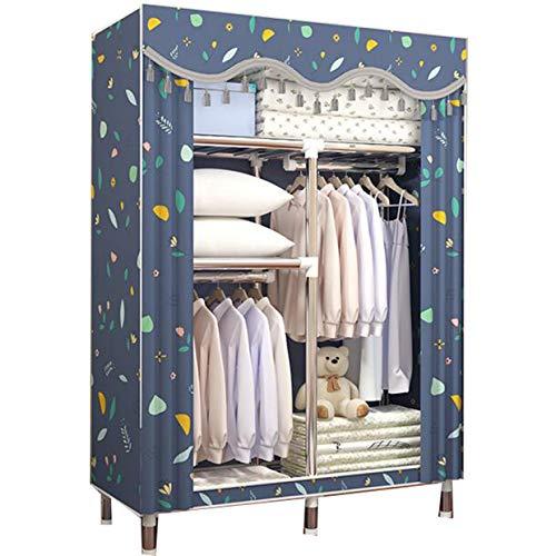 LLCXL stoffen kast eenvoudige, opvouwbare stoffen kast kledingkast opslag bijzonder stabiel en duurzaam eenvoudig te monteren geschikt voor kastorganisatoren