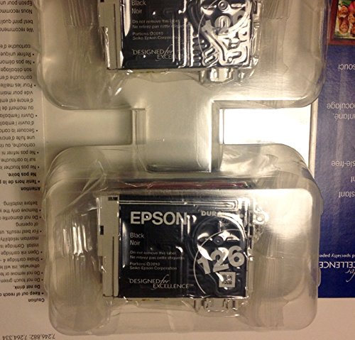 Epson impresora de inyección de tinta–126alta capacidad valor Combo Pack