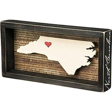 Primitives by Kathy State Box Sign, North Carolina