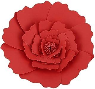 Papel de seda flor hecho a mano papel para colgar flores decoración cumpleaños boda fiesta papel decoración flor 4