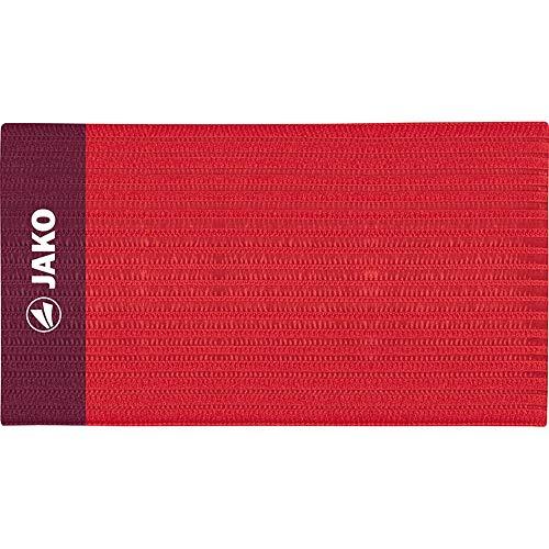 JAKO Kapitänsbinde Classico, Benda da da Capitano Unisex-Adulto, Colore: Rosso, 35 x 9.0 cm