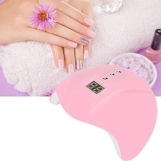 Máquina de fototerapia de uñas, máquina de uñas portátil inteligente, arte de uñas de secado rápido de 36 W, 12 perlas de lámpara, uña de cronómetro de varias etapas