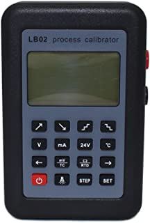 LB02 Resistance Current Voltmeter Signal Generator Source Process Calibrator 4-20mA/0-10V/mV LCD Display Update from LB01