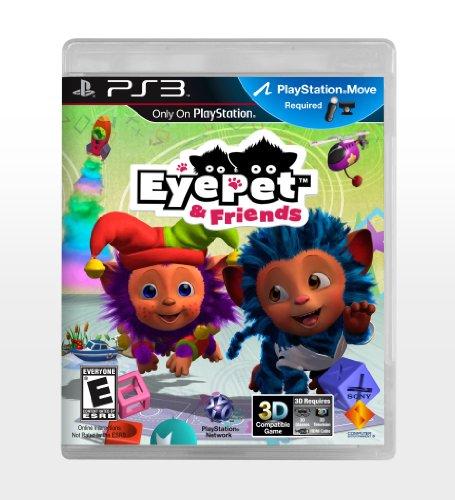 Sony EyePet & Friends, PS3 PlayStation 3 Inglés vídeo - Juego (PS3, PlayStation 3, Niños, Modo multijugador, E (para todos))