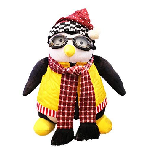 WYBF Joeys Freund HUGSY Plüschtiere Pinguin, Plüschpuppe Spielzeug für Kinder Geburtstagsgeschenk,45CM