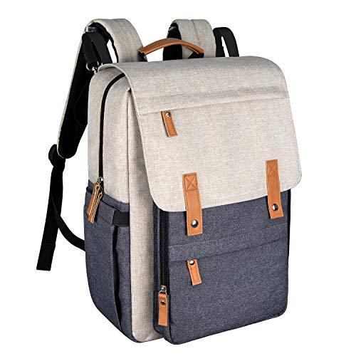 Diaper Bag Backpack Muilti-Function Large Capacity Diaper Backpack(1004-WG)