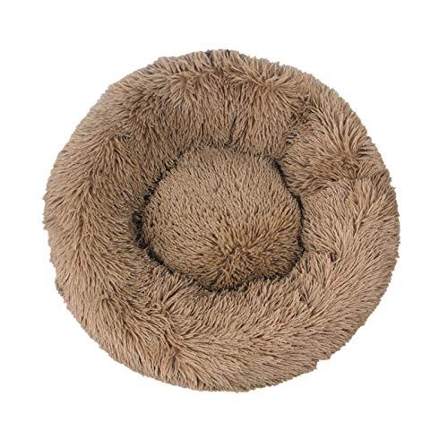 Cama para mascotas, Cama para perros de mascotas Cómodo Donut Donut Redondo Súper suave lavable Cat y perro Cojín Cojín de Cojín de invierno Sofá cálido Para mascotas ( Color : L , Size : XXXL 100CM )