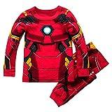 Marvel Iron Man Costume PJ PALS for Boys, Size 2