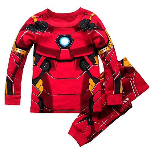 Marvel Iron Man Costume PJ PALS for Boys, Size 2