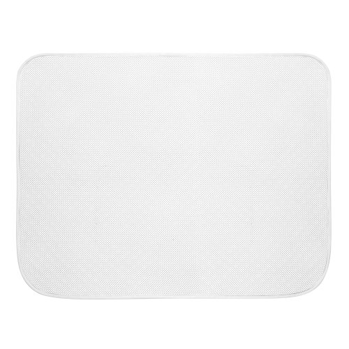 Price comparison product image iDesign 46 x 61 cm iDry Bath Mat,  White