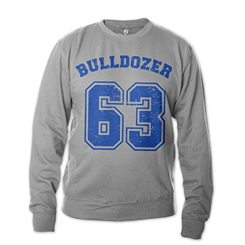Bud Spencer Herren Bulldozer 63 Sweatshirt (grau) (XL)