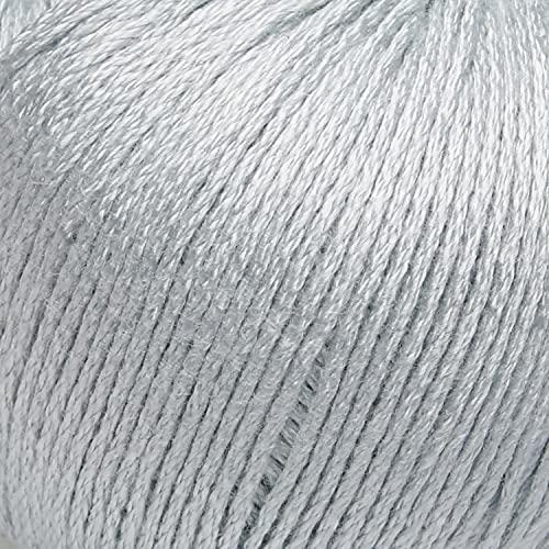 ggh Bambu   weiche Viskose Wolle aus Bambus   50g Wolle zum Stricken oder Häkeln   Farbe 013 - Helles Mintgrün