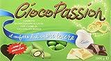 Crispo Confetti Cioco Passion Cioccolato al Latte con Cuore di Cioccolato Bianco - Colore Verde - 3 confezioni da 1 kg [3 kg]