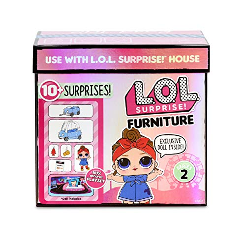 L.O.L. Surprise! 564928E7C Furniture Road Trip with Can Do Baby & 10+ Surprises, Multi